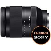 Sony SEL24240 Teleobiettivo con zoom da 24-240 mm F3.5-6.3, Full Frame, stabilizzatore ottico, Innesto E, Nero