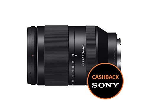 Foto Sony SEL24240 Teleobiettivo con zoom FE 24-240 mm F3.5-6.3 OSS, Nero