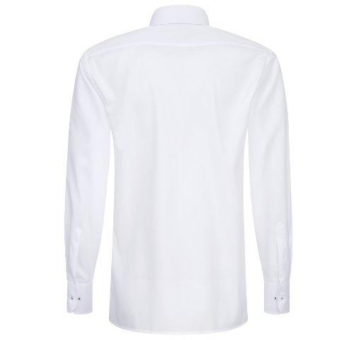 """Herren Hemd """"Modern Fit"""" Fein Oxford Weiß"""