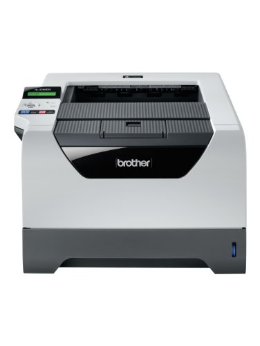 Brother HL-5380DN Monochrome Laserdrucker (Duplex, 2400 x 600 dpi, USB 2.0) grau/weiß
