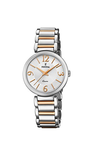 Festina Womens Analogue Classic Quartz Watch with Stainless Steel Strap F20213/2