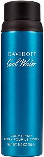 Davidoff Coolwater Body Spray For Men, 5 Fluid Ounce