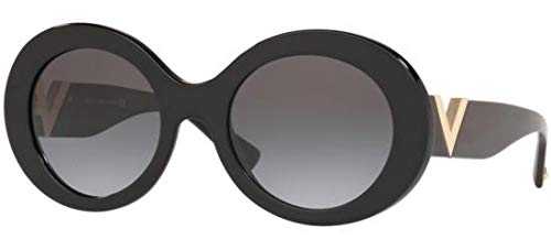 Valentino Sonnenbrillen V Logo VA 4058 Black/Grey Shaded Damenbrillen