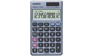 CASIO calculatrice SL-320 TER Plus, alimentation solaire/