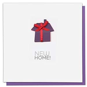 Block biglietto per festeggiare la nuova casa lingua inglese casa e cucina - Auguri divertenti per la casa nuova ...