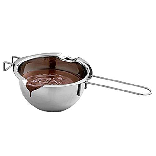 Lalang Wasserbad- und Schmelztöpfchen, Edelstahl Schokolade wärmer, Topf Butter wärmer, schokoladenwärmer