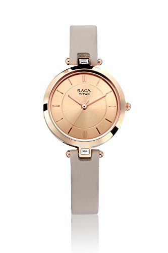 Titan Raga Viva Analog Rose Gold Dial Women's Watch - 2603WL01