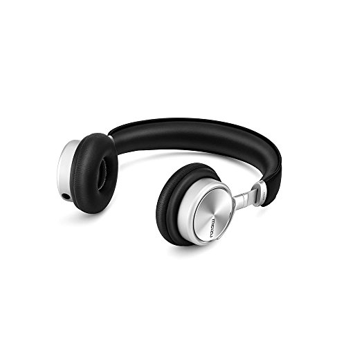 Meizu HD50N Head-band Binaural Wired Black,Silver mobile headset - Mobile Headsets (Wired, Head-band, Binaural, Supraaural, 20 - 20000 Hz, Black, Silver)