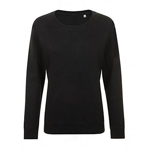 SOLS Damen Studio French Terry Sweatshirt, langärmlig Asche