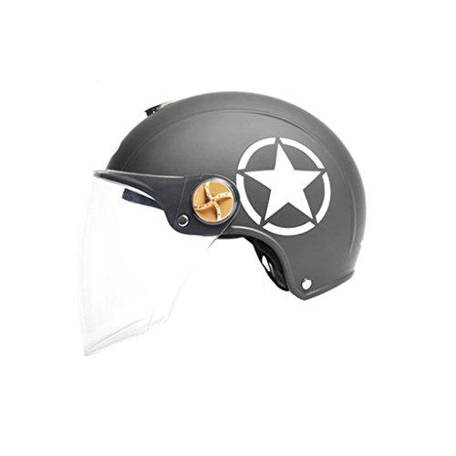 Caschi Cromwell Casco di sicurezza da corsa Caschi Four Seasons Ms. Casco protettivo generale di sole estivo casco per motociclista casco elettrico maschile casco batteria per auto cappello rigido