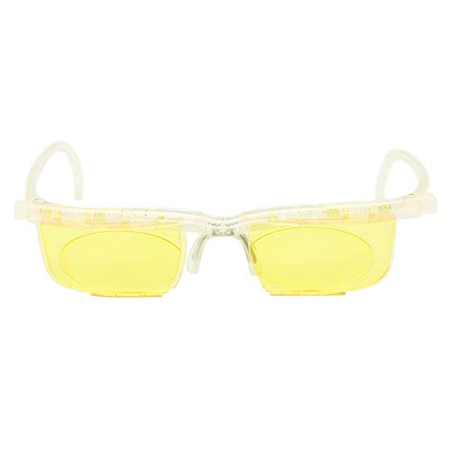 Adlens Interface Computer Brillen Variable Stärke Brille-3 t + 3D Dioptrie Anti Blue Ray (klar)