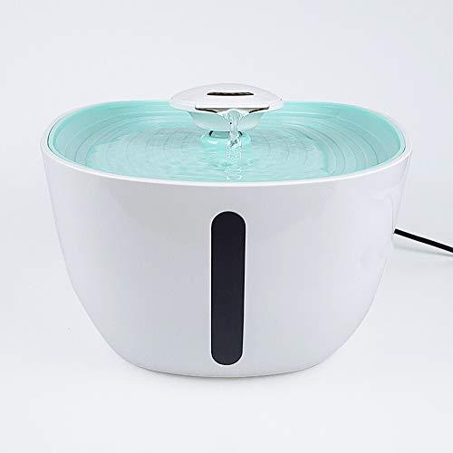 YanYu 2l Automatischer Wasserspender Zirkulation Trinkwasser Feeder Live Water Mobile Pet Elektrischer Trinker Mute Cat Dog Trinkbecken Wasserschale