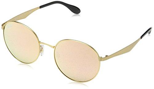 RAYBAN Unisex Sonnenbrille 0rb3537, (Gestell: Gold, Gläser: braun verspiegelt Kupfer 001/2Y), Medium (Herstellergröße: 51)