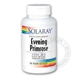 Aubrey Organics Organic Evening Primrose Oil 60 capsule