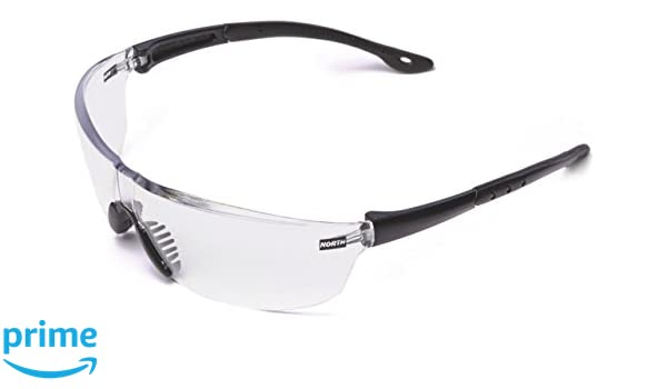 Honeywell 908730 Tactile T2400 Safety Eyewear Frame with Clear Anti-Scratch Lens - Black (12-Piece)