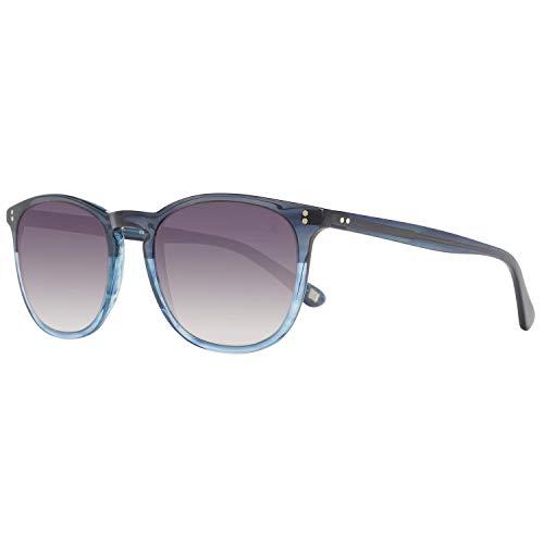 Hackett London Herren HSB83860452 Sonnenbrille, Blau (Azul), 52