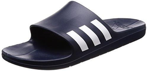 competitive price e6332 25329 8. adidas Herren Aqualette Dusch- Badeschuhe, Blau (Collegiate  NavyFootwear WhiteCollegiate Navy 0), 42 EU
