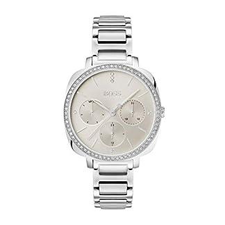 Hugo Boss Reloj Multiesfera para Mujer de Cuarzo con Correa en Acero Inoxidable 1502492