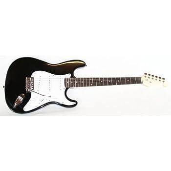 E-Gitarre + Kabel & Tremolo (schwarz)