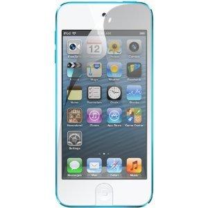 TECHGEAR [2 Stück Displayschutz für iPod Touch 7 2019 Touch 6 und Touch 5 (7. 6. 5. Gen) - Ultra Klare Schutzfolie für Apple iPod Touch 7 6 und 5 - mit Reinigungstuch + Applikationskarte (Displayschutzfolie Ipod 5 Gen)