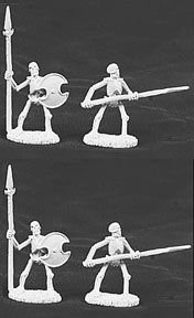 Desconocido Reaper Miniatures 06006 - Zinnminiatur (unbemalt) Importado de Alemania