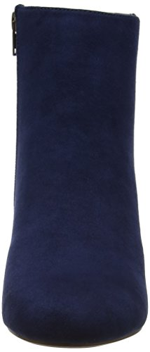 Dorothy Perkins Wood Heel A-Lister, Stivali Chelsea Donna Blue (Navy)