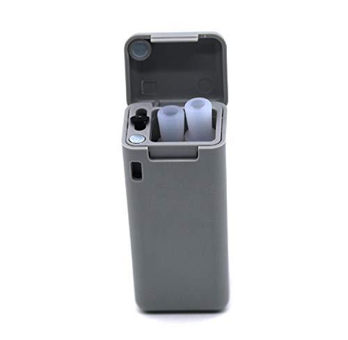 me-Thingsom-HOM1350 Faltbarer Trinkhalm Wiederverwendbarer Edelstahlstrohhalm für die Reise mit Schlüsselbundloch im Freien ()