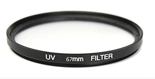 Interesting® Ultraviolettes UVobjektivfilter Schutz für Nikon Canon Kamera