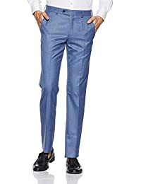 Van Heusen Men's Drop Crotch Formal Trousers