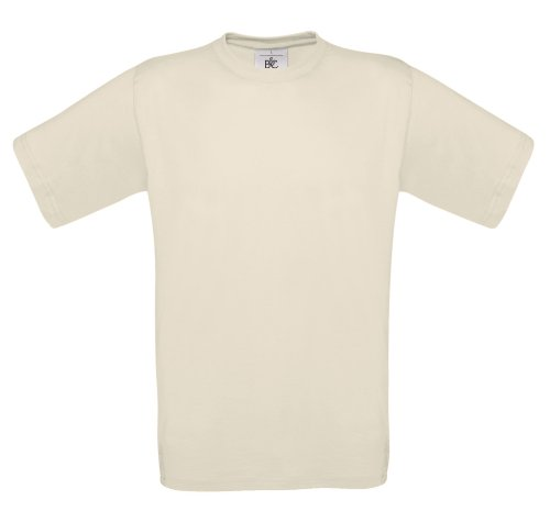 BCTU002 T-Shirt Exact 150 Herren Damen Natural
