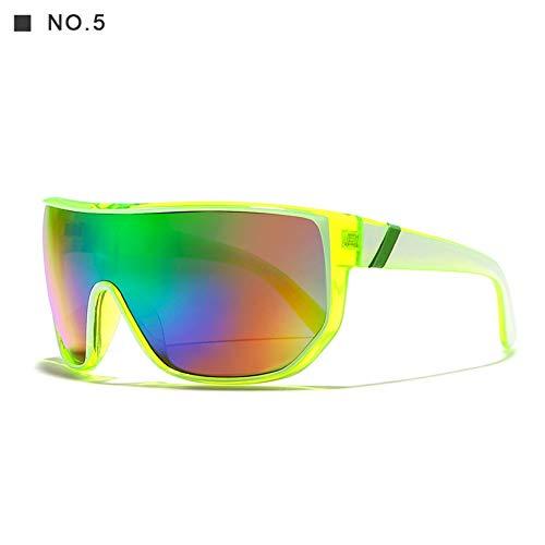 LAMAMAG Sonnenbrille Übergroße Männer Sonnenbrillen Große Sonnenbrille Frauen anteojos de sol UV400, g