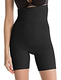 Spanx Womens Black 'Power Series' High-Waisted Shorts