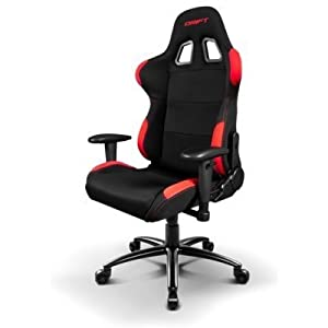 Drift DR100 – DR100BR – Silla Gaming, Color Negro/Rojo