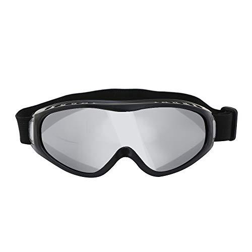 Weshcun Motorrad-Reiten Sonnenbrille, Sicherheit Ski Motocross Scooter Biker Brillen, UV-Schutz-staubdicht Anti-Fog-Sonnenbrille für Sport im Freien
