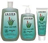 Jason Naturals 98% Aloe (Jason Natural Aloe Vera 98 Percent Moisturizing Gel 16 Oz(2 Pack) by Jason Natural)