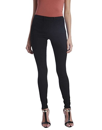 Only Women Solid Pants With Zipper At The Back