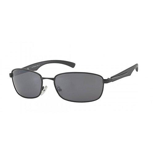 Lunettes de soleil chic-Net lunettes Hommes vélo lunettes teintées 400UV élément Huit lunettes de soleil noir foncé phHcw8A99O