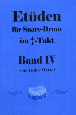 Etüden für Snare Drum im 4/4-Takt Band 4
