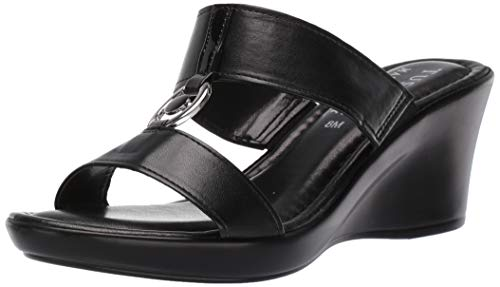 Easy Street Women's Tuscany Calla Wedge Sandal - Pointy Toe Knee High Boots