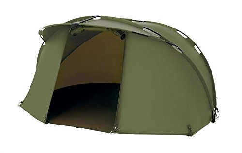 Trakker-Cayman-1-Man-Carp-Fishing-Bivvy-Overnight-Day-or-Session-Shelter-Carp-or-Coarse-Fishing