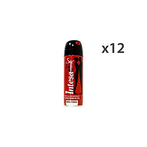 Set 12 INTESA Deodorante Spray UNISEX AMBRA 125 Ml. Cura del corpo