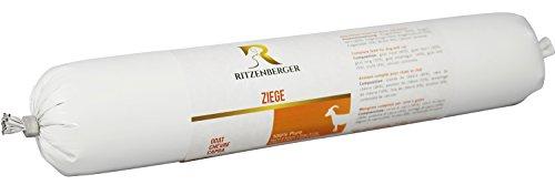 Ritzenberger, cibo per cani, Capra - pura carne, 5 x 500g, Pure mangime per cani