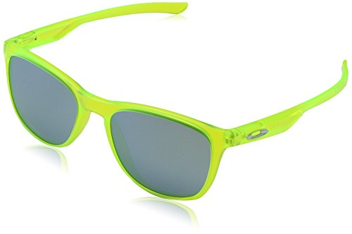 Oakley Herren Trillbe X 934007 52 Sonnenbrille, Grün (Matte Uranium/Emeraldiridium),