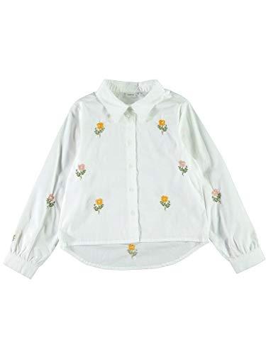 NAME IT Camiseta Nete Blanco para Niã±a 134140 Blanco