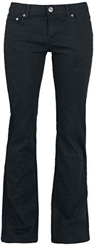 R.E.D. by EMP Grace (Boot-Cut) Pantaloni donna nero W32L32
