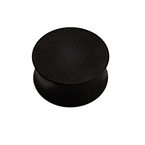 Wood - Plug - Black - maple 22 mm