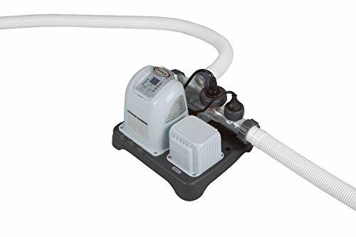 Intex 12-28664GS Krystal Clear Salzwassersystem, Chlorgenerator Generation 3, 230 V, 125 W, TÜV/GS, benötigte Filterleistung mindestens 2,650 l/h