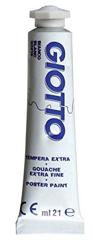 Tempera tubo n.01 ml21 bianco 1pz