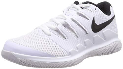 Nike Air Zoom Vapor X HC, Scarpe da Tennis Uomo, Multicolore Black/Vast Grey/Summit White 101, 38.5 EU
