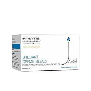 INNATE Brilliant Creme Bleach for Women and Men with Oxygen and Water Balance Complex, (Pack of 1)-275gm